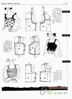 Modeling elements of women's clothing. Discussion on LiveInternet - Russian Service Online diary Sewing Hacks, Sewing Tutorials, Sewing Projects, Techniques Couture, Sewing Techniques, Clothing Patterns, Sewing Patterns, Women's Clothing, Textile Manipulation
