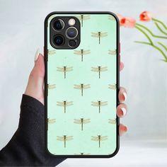 Flower wallpaper phone case cover 202 Black (Apple Models Only) - 8