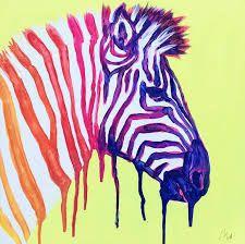Pop Art - Zebra (at Rice Up) - PaintEvents. Zebra Kunst, Zebra Art, Pop Art, Painting Workshop, Happy Friends, Instagram Images, Instagram Posts, Art Google, Moose Art