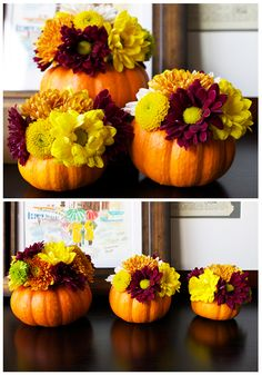 Easy and Cute Thanksgiving Centerpiece
