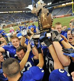 Ishpeming (Mich.) High wins State Title 2012! Got a nice article write up in sports illustrated too!!!