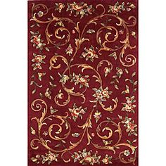 @Overstock - The Harmony rug is hand-tufted of 100-percent wool. This area rug has a brick background with accent colors ivory, blue, green, lavender and brown.http://www.overstock.com/Home-Garden/Hand-tufted-Harmony-Brick-Wool-Rug-8-x-11/4791059/product.html?CID=214117 $429.99