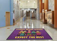 Elementary School Logo Rug Spirit Schools Primary