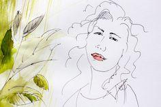 Lato!  #summer #green #fashion_illustration