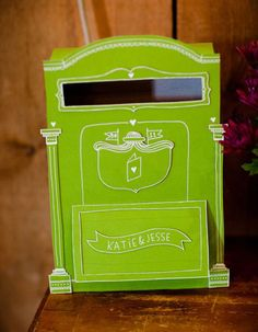 Une boîte aux lettres pour les amoureux !