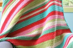 Little Woollie Star Stitch Blanket cakepins.com