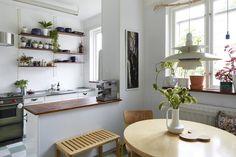 Appunti di casa: Home tour: cosy scandinavian interior
