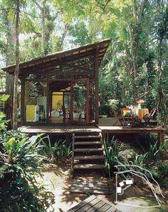 Jungle Cabin, Brasil