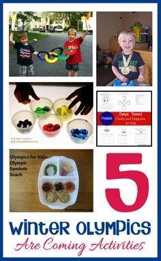 Doing some Winter Olympics things in your this month? Using Basics? Here's some great Winter Olympic games for toddlers! Olympic Games For Kids, Olympic Idea, Winter Olympic Games, Winter Olympics, Winter Games, Fun Activities For Toddlers, Winter Activities, Preschool Activities, Olympic Crafts