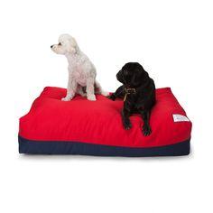Flip Stitch Bed Red/Navy