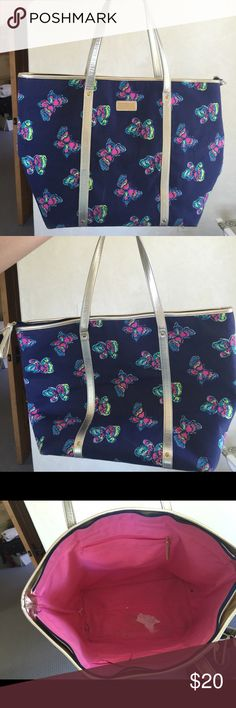 Lilly Pulitzer bag Lolly Pulitzer bag- white out stain on bottom Lilly Pulitzer Bags Shoulder Bags