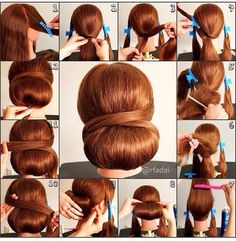 totally easy hair tutorial pretty hairstyles to experiment with at home pretty Easy Low Bun Hairstyles Step By Step hairstyles to Elegant Hairstyles, Vintage Hairstyles, Braided Hairstyles, Wedding Hairstyles, Party Hairstyle, Hairstyle Ideas, Braided Updo, Hair Ideas, Hairstyle Pictures