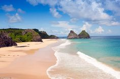 Brazil's Fernando de Noronha was named the 10th best island in the world and previously won an award for the world's best beach