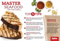 Here are our top 5 tips for mastering seafood on the grill.
