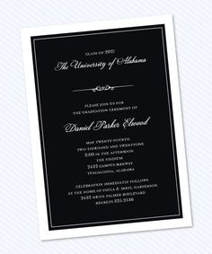 Formal announcement invitation formal invitation design and products formal announcement invitation graduation by stacy claire boyd stopboris Choice Image