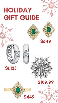 Celebrate everyone on your list this Christmas with something from Silveri Jewellers. Holiday Gift Guide, Holiday Gifts, Jewels, Engagement, Stone, Bracelets, Christmas, Xmas Gifts, Xmas