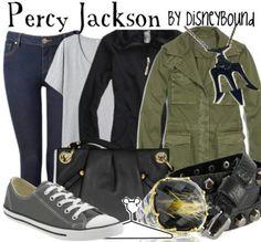 Percy Jackson by DisneyBound