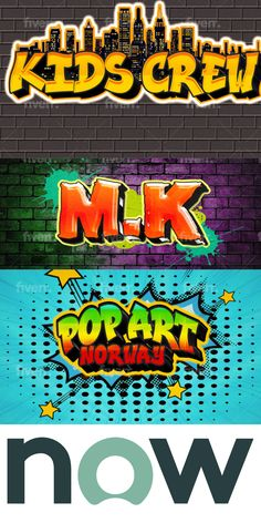 I am Creative & Talented Professionals Designer. I specialized in all kinds of graphics, web Designing. I guarantee to make your business information available 24 hours a day, 7 days a week. I offer my Excellent and Express Service on very Cheap Rate and make your Wish True. I can deal with any type of BEST Graffiti Font LOGO as per your brief. best logo fonts Best Graffiti, Graffiti Font, Pop Art Font, Font Logo, Fonts, Web Design, Graphics, Make It Yourself, Type