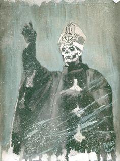 Papa Emeritus II by ragzdandelion.deviantart.com on @deviantART