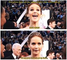 This why we love Jen! =D