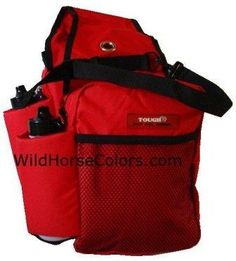 Tough 1 Gear Carrier Saddle Bag - RED