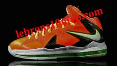 buy online cbc76 ab46f Nike LeBron X Elite Playoffs Total Crimson Fiberglass Black Volt 579827 800