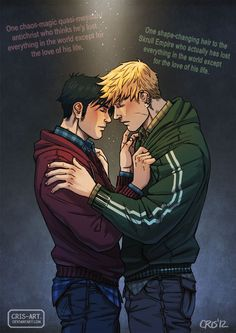 Teddy Altman(Hulkling) y Billy Kaplan(Wiccan)