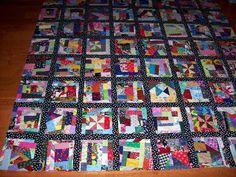 Crumb Quilt.  Colorful quilt.  Peace, Robert from nancysfabrics.com
