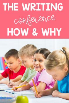 I'm sharing what I love most about writing conferences and why they are such an important part of your writing block! Learn about tips and ideas that will keep you organized while also providing meaningful feedback to your beginning level writers all the way up to your advanced writers. These ideas could be applied to your kindergarten, first grade, or even second grade classroom!