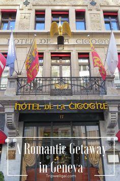 Luxury and sweet attention in Geneva's aristocratic Hotel de la Cigogne.
