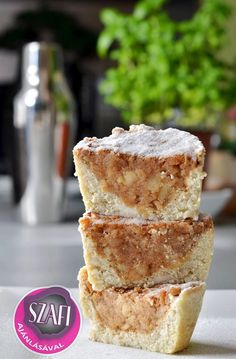 Light paleo almás pite és muffin ~ Éhezésmentes Karcsúság Szafival Healthy Desserts, Healthy Recipes, Healthy Foods, Gallbladder Diet, Dairy Free, Gluten Free, Muffin, Cheesecake, Food And Drink