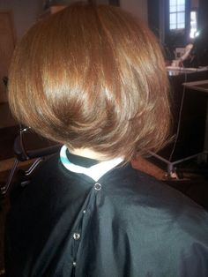 ..razor cut bob for a new client