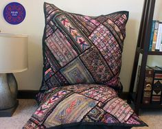 Large Floor Pillow Cover Bohemian, 26x26 Floor Cushion Large, Giant ...