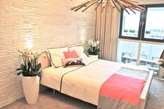 Gezien op tv bij Eigen Huis & Tuin. Een slaapkamer met mooi en comfortabel #tapijt van Yunieq