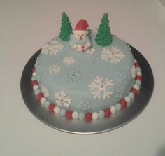 Christmas cake for work