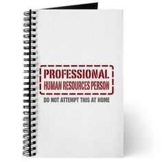 Professional Human Resources Person Journal