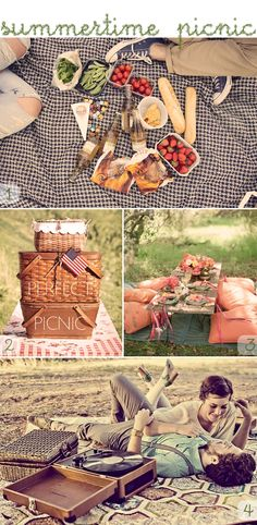 A picnic in the park is a wonderful way to spend a weekend afternoon!