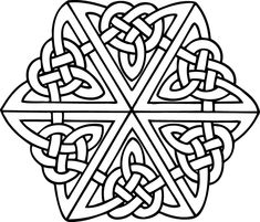 "A ""simple"" (relatively speaking) Celtic design."
