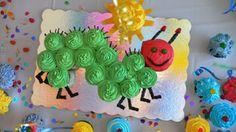 caterpillar-cake & bug-loving outdoor birthday party ideas