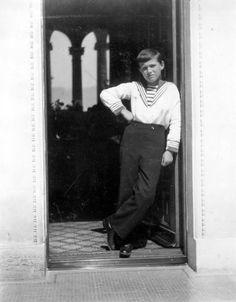 Alexei at Livadia, 1914