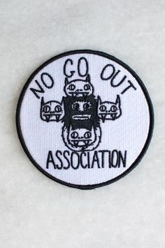 6x Black Gold Embroidered Patch On Embroidered Patch Size 3 For Clothes Jacket Backpack.