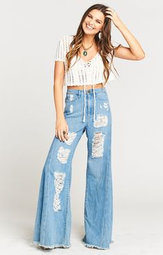 Little Ingalls Crop ~ White Out  | Show Me Your Mumu