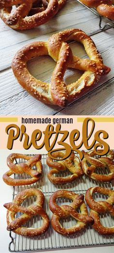 Nutritious Snack Tips For Equally Young Ones And Adults These Homemade Pretzels Are Perfect We Use An Authentic German Pretzel Recipe That's Totally Delicious Easy German Recipes, Great Recipes, Favorite Recipes, Recipe Ideas, Appetizer Recipes, Snack Recipes, Cooking Recipes, Snacks, Appetizers