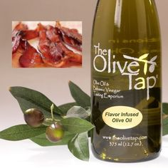 The Olive Tap - Smoky Bacon Olive Oil, $17.95 Bacon has become a hugely popular flavor in the culinary world and now you can get healthy Extra Virgin Olive Oil with a rich, smoky all natural bacon flavor.  Compared to rendered bacon grease that is high in saturated fat, The Olive Tap Smoky Bacon Olive Oil is a heart-healthy alternative, exhibiting a lighter texture, perfectly balanced smokiness and a pleasing bacon flavor. Best of all, you won't have to clean up after rendering fat and won't…