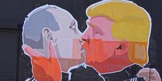 Mural by the Lithuanian artist Mindaugas Bonanu shows Donald Trump and Vladimir Putin in a passionate embrace (Credit: Petras Malukas/AFP/Getty Images) 'After all, however loudly Putin and Trump may have blown each other's trumpets, the actual compatibility of their political temperaments remains to be seen. Kelly Grovier, BBC The World's eyes are on thees two men and our judgement is all in the Optics It is generally the optics, not the substance, that defines a meeting suc...
