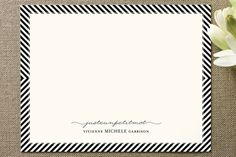 personalized stationery by emily ranneby