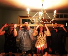 Another messy night on the Shot Ski