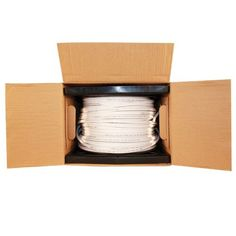 500 Foot White Siamese RG59 Cable