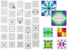 64 Trendy Geometric Art Projects For Kids Geometry