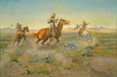 Sagebrush Sport by Charles Marion Russell